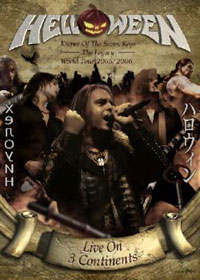 HELLOWEEN: Keeper Of The Seven Keys – The Legacy – World Tour 2005/2006 – Live On Three Continents 2DVD