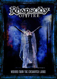 RHAPSODY OF FIRE: Visions From The Enchanted Lands 2 DVD